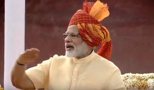 PM Narendra Modi Independence Day today speech