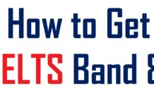 how to get IELTS 8 band