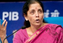 Nirmala Sitharaman as new Defence Minister of India