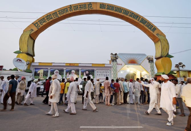 Can not be found in Dera Sirsa Court Commissioners to reach Sirsa today