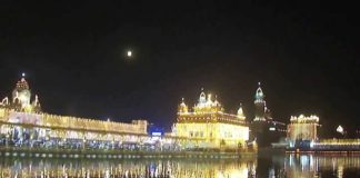 Guru Nanak Dev ji Gurpurab celebration at shri Amritsar shaib