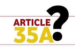 ( भाग - 4) 35 ए पर महत्वपूर्ण लेख